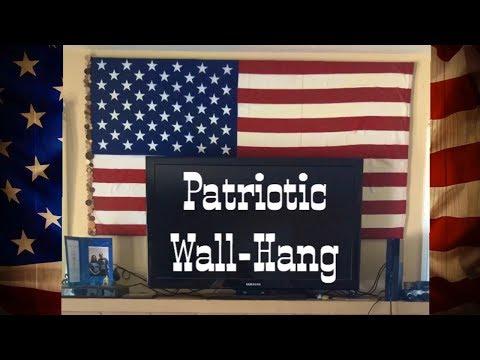 American Flag Wall Hang