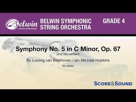 Symphony No. 5 In C Minor, Op. 67, Arr. Michael Hopkins – Score & Sound