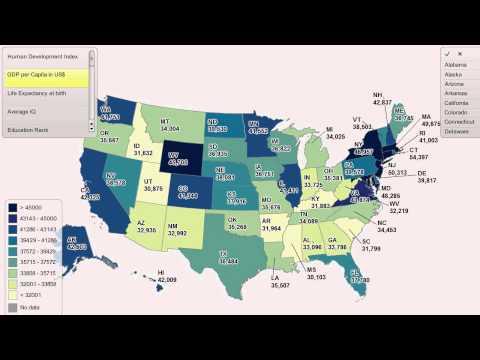 GDP per Capita by US State