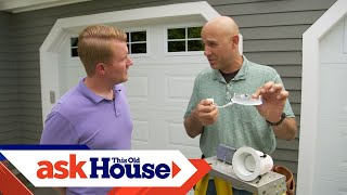 How to Install Ultra-Thin Exterior Lighting | All About Lights | Ask This Old House