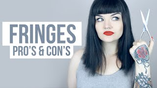 FRINGES/BANGS: PROS & CONS