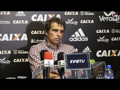 Coletiva Milton Cruz - Figueirense 1 x 1 Goiás - Série B - 12/08/2017