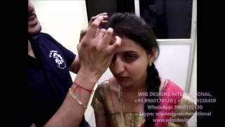 Advantages of Clip in Ladies Hair Extensions  - Santosh +91 7829338459 - Wig Designs International