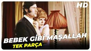 Bebek Gibi Maşallah | Hülya Koçyiğit Eski Türk Filmi Tek Parça (Restorasyonlu)