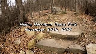 Hiking Harriman State Park, November 24th 2018