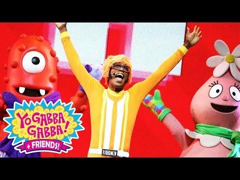 Yo Gabba Gabba! Family Fun - YO GABBA GABBA DANCE | NEW SPECIAL | DJ LANCE ROCK | Baby Songs
