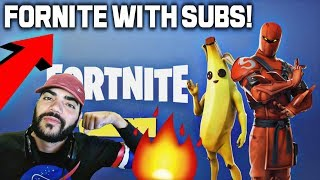 FORTNITE SQUADS WITH SUBSCRIBERS! Grind to 20,000 SUBSCRIBERS IS REAL