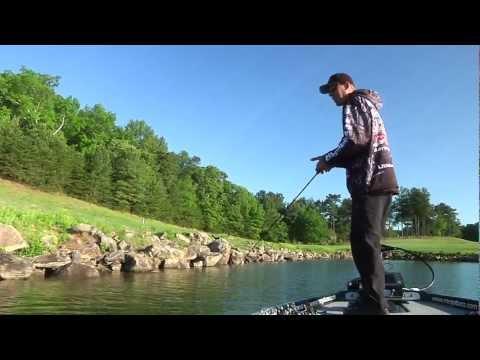 Aaron Martens Fishing The Megabass Ito 110 Magnum SP - Tackle Warehouse VLOG #159