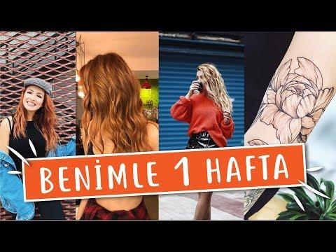 Vlog   Benimle Bir Hafta   Okul, Ev Hallerim, Yeni Dövmem, Yeni Saçım & Vega Konseri
