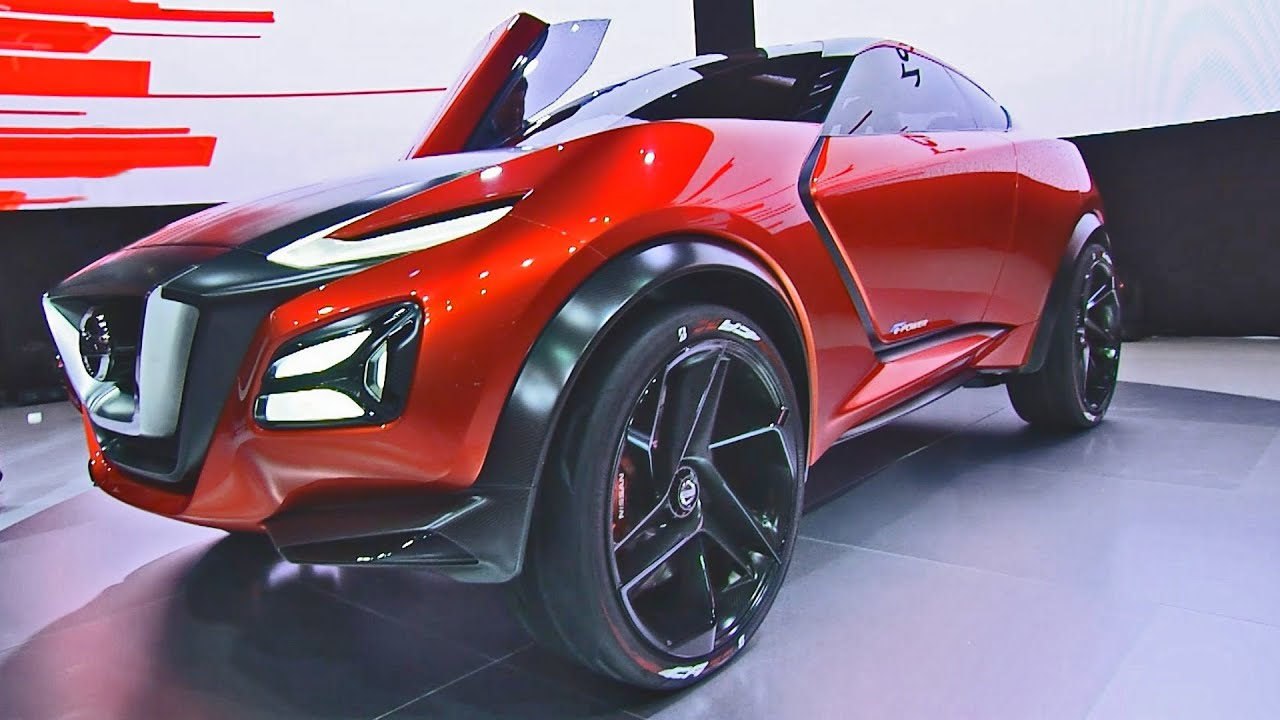 nissan gripz concept - radical sports crossover - youtube