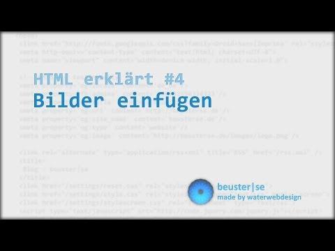 HTML Erklärt #4 Bilder Einfügen