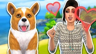 The Sims 4 - NEW PUPPY + NEW HOUSE!! SIMS 4 Cats & Dogs, Episode 4! (Sims 4 Gameplay)