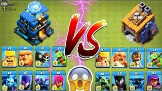 New Th-12 Troops Vs BH-Troops🔥🔥🔥 Clash Of Clans Ulimate Battle