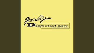 Dua Lipa Don't Start Now (Live in LA Remix) Video