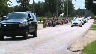 Welcome Home Lance Cpl Alec Terwiske - Fallen Hero - 9-12-2012