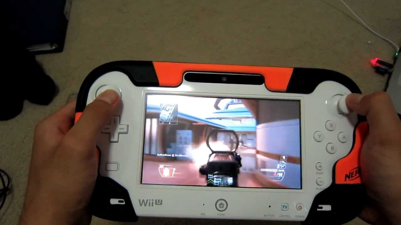 U With Wii Games 2 : Wii u black ops multiplayer gameplay on gamepad hd youtube