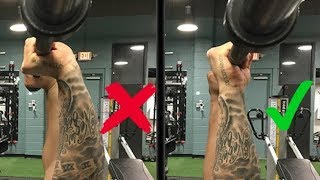 FIXING YOUR BROKEN BENCH PRESS: Grip Width, Wrist Position & No Arch