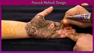 Peacock Mehndi Design  Mehendi For Beginners  Being Woman  Heena Designs