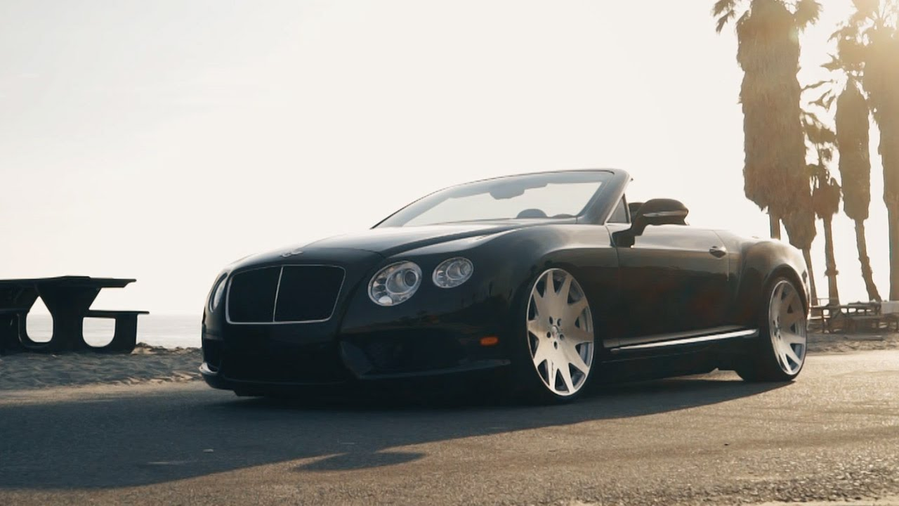 mrr hr3 wheels bentley continental gt convertible youtube. Black Bedroom Furniture Sets. Home Design Ideas