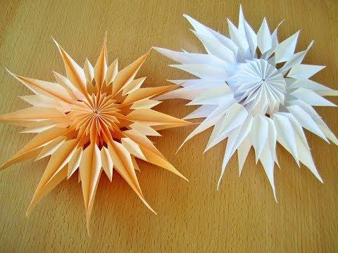 DIY: Weihnachtsstern aus Papier/ Star of paper