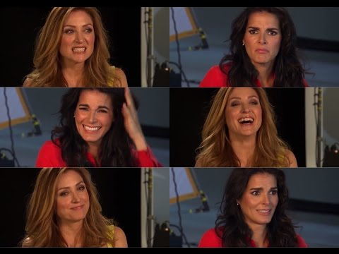 Rizzoli & Isles - Interview Angie Harmon & Sasha Alexander (deutsche Untertitel)