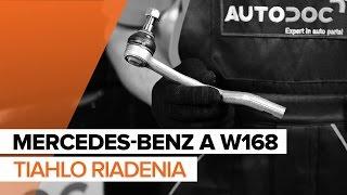 Vymeniť Čap riadenia MERCEDES-BENZ A-CLASS: dielenská príručka