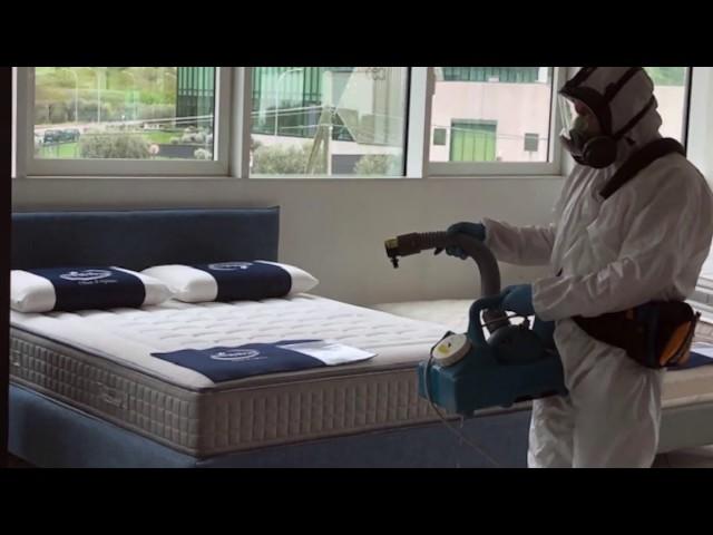 Decontaminazione Covid19 - Sanificazione stabilimento, laboratori, depositi e show room Bedding.