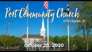 Port Community Church - October 25, 2020
