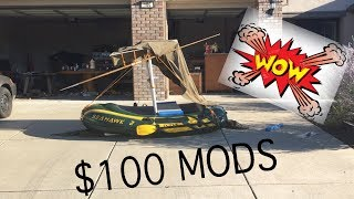 SeaHawk 2 Raft MODS FOR ONLY $100 INCLUDING PRICE OF RAFT!!!