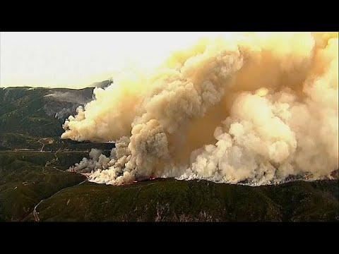 ABD: Yangın kontrol altına alınmaya başladı