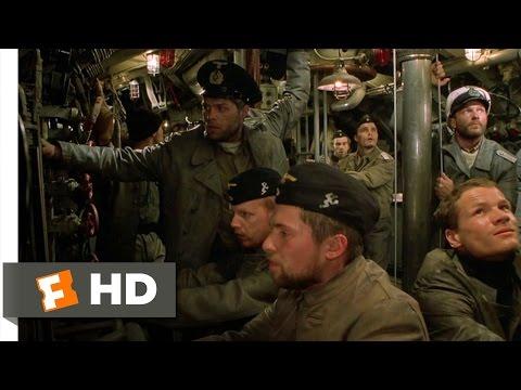 U-571 (1/11) Movie CLIP - German U-Boat Attack (2000) HD