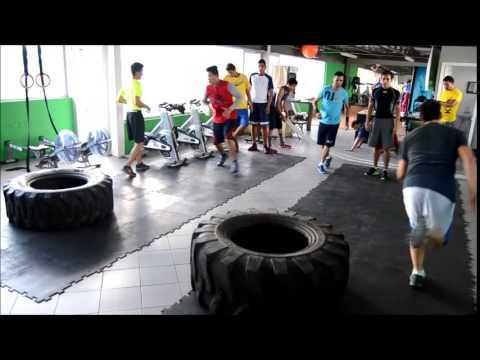 Entrenamiento en Raptor Gym con los INDIOS BEISBALL ACADEMY Chihuahua Ago 2015