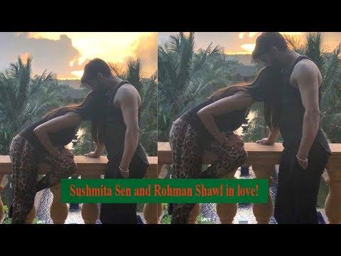 Sushmita Sen and her boyfriend Rohman Shawl's kissing picture go viral Mp3