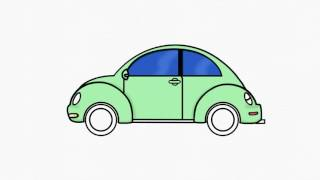 How To Draw Volkswagen Beetle #1 | Draw VW | Step by Step Easy