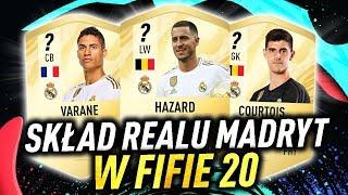 SKŁAD REALU MADRYT W FIFA 20 /ft. Hazard, Varane, Jović... [PRZEWIDYWANIA]