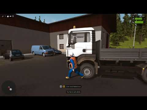 construction simulator 2015 but i can't drive  