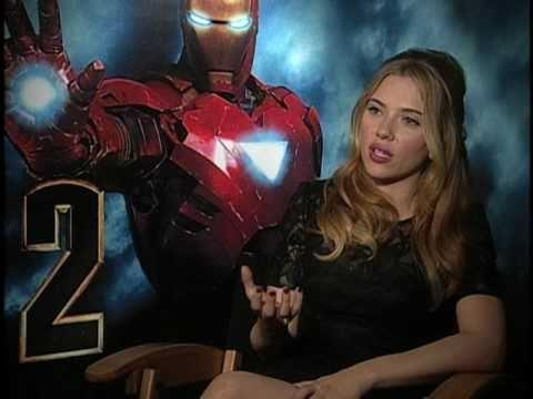 Iron Man 2 Interview - Scarlett Johansson