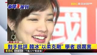 韓冰「高雅暖女」氣質助爸 學者讚:殺傷力強