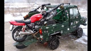 видео Мотоэвакуатор – эвакуатор для мотоцикла