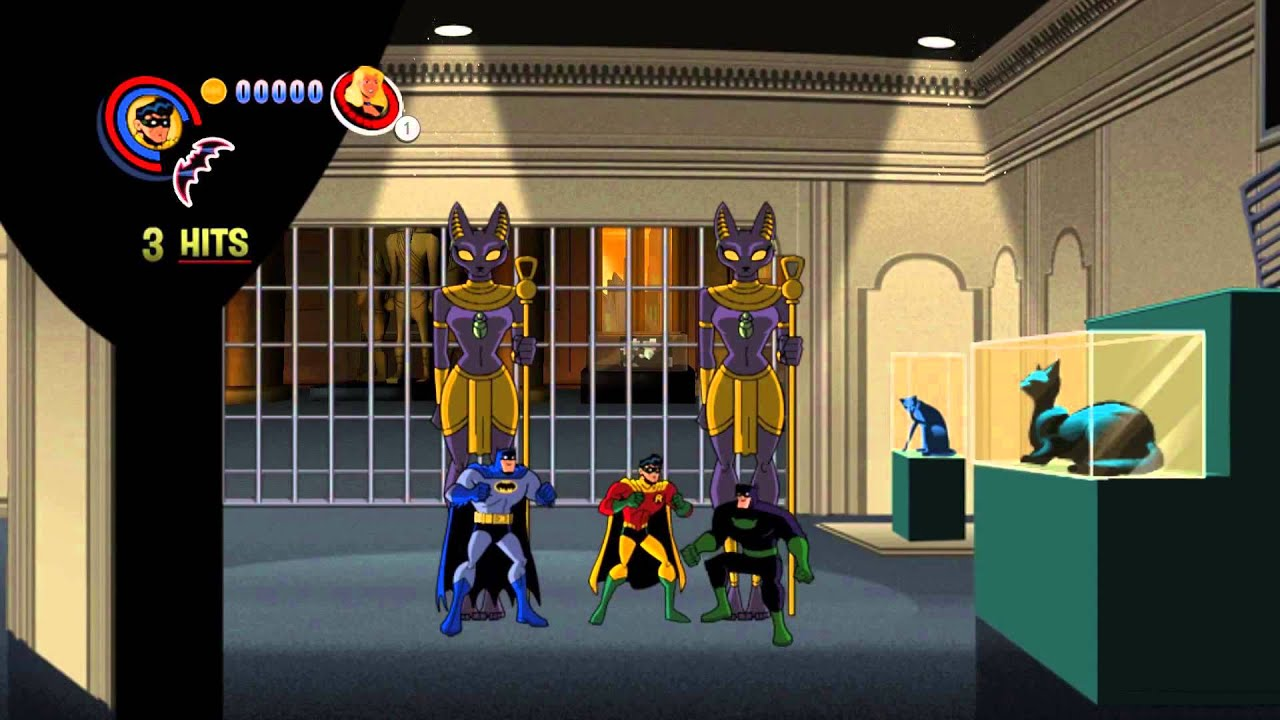 Batman: The Brave and the Bold game walkthrough video ...