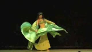 Toronto bellydancer Zahira, Isis Wings performance to Layali al-Sharq