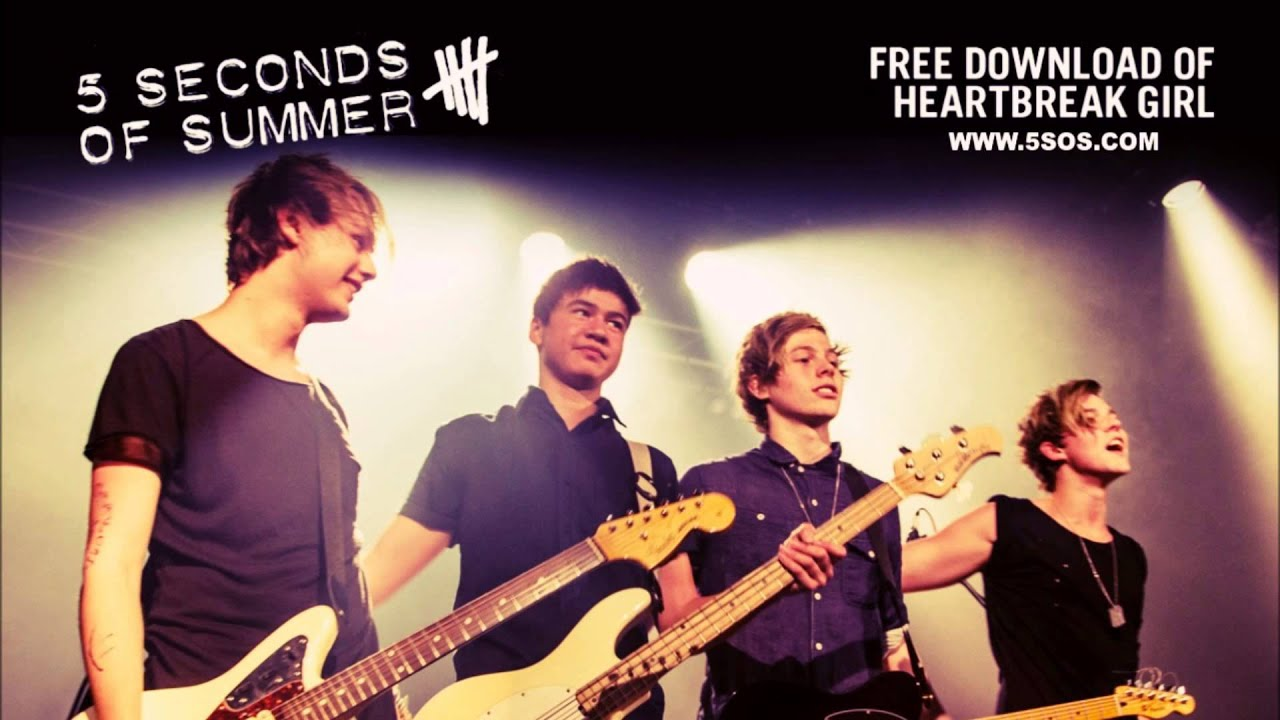 5 Seconds of Summer - Heartbreak Girl (Audio) - YouTube