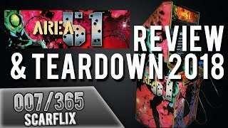 AREA 51 Retro Arcade Game REVIEW & TEARDOWN 2018 [007]