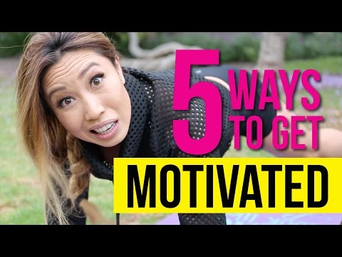 5 ways to motivate yourself to work out when you don't feel like it!