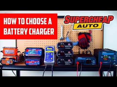 How To Choose A Battery Charger // Supercheap Auto