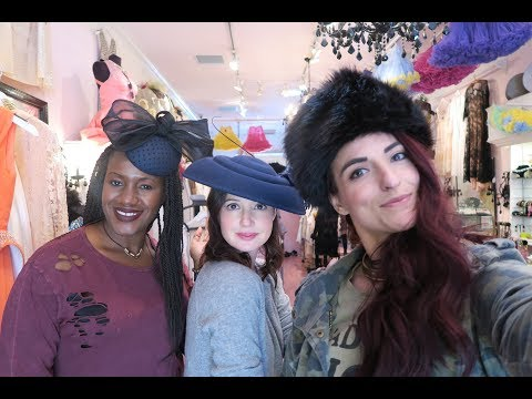 Come Shopping with us at the Grove Vlog |Christmas Edition| #ThriftersAnonymous