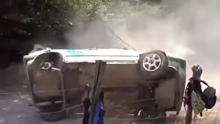 Top 10 videos of rally car crashes For top 10