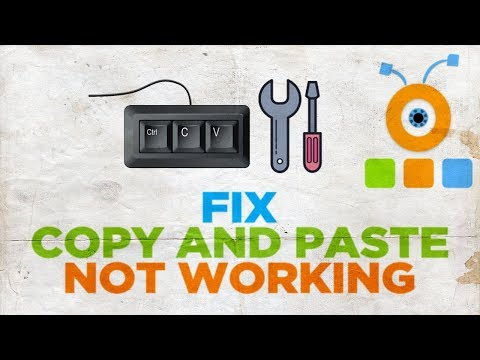 How To Fix Copy And Paste Not Working In Windows 10