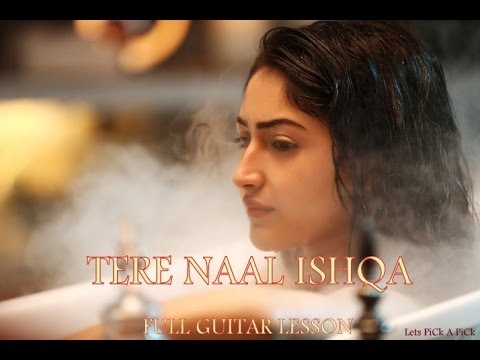 Tere Naal Ishqa Video Song tutorial lesson...