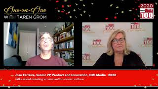 Jose Ferreira, CMI Media – 2020 PharmaVOICE 100 Celebration